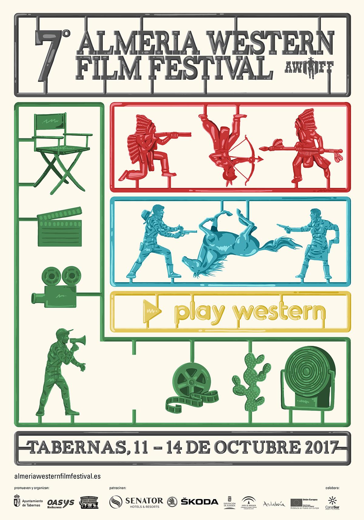 Cartel Oficial VII Edición del Almería Western Film Festival