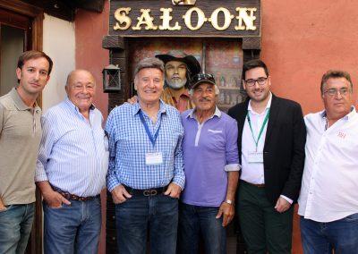 Juan Francisco Viruega, Paco Ardura, George Martin, Sal Borgese, Jose Diaz y Rafael Molina