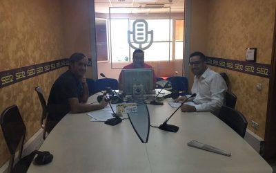 Entrevista en «Hoy por Hoy» de Cadena Ser Almería