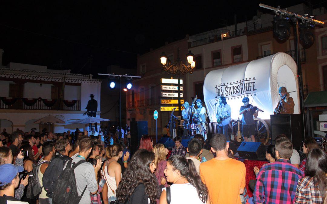 Proyecciones al aire libre y música en directo, atractivos de AWFF
