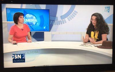 Entrevista a Cristina Serena, Coordinadora del AWFF en Canal Sur Noticias Almería