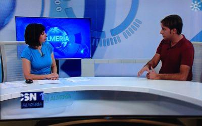 Entrevista en Canal Sur Noticias a Juan Francisco Viruega.