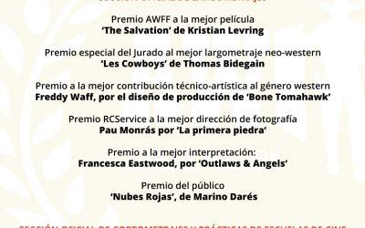 Palmarés VI Edición del Almería Western Film Festival