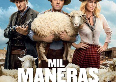 MIL MANERAS DE MORDER EL POLVO - SETH MCFARLANE