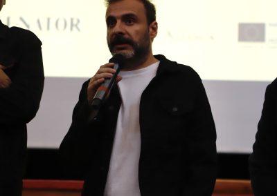 Alfonso Cortes-Cavanillas durante la presentacion de Sordo