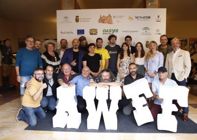 Cortometrajistas en Almeria Western Film Festival 2019