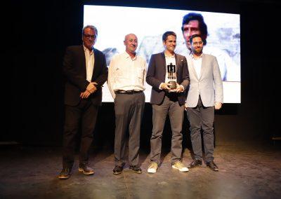 Daniel Camargo recoge el premio Leone in Memoriam a George Hilton