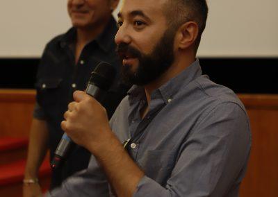 El director Alberto Romero prensenta Infierno Grande