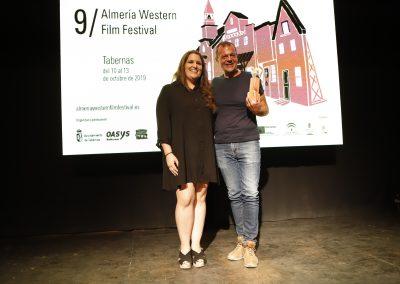 Joaquin Tate Fernandez recoge el premio ASFAAN