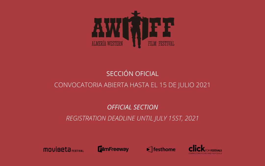 Almería Western Film Festival abre la inscripción para su 11ª edición, que tendrá lugar del 8 al 11 de octubre de 2021 en Tabernas