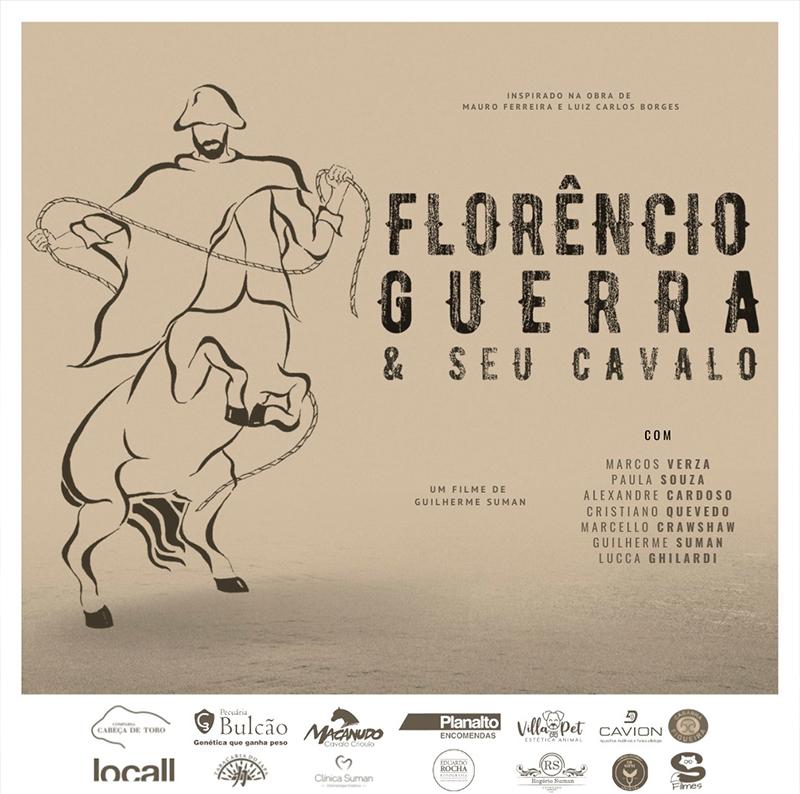 Florencia Guerra and his horse