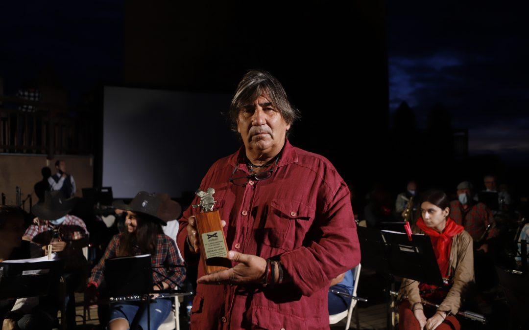 """Hernán Ortiz, premio ASFAAN: """"Mi mejor momento fue volver a Tabernas para seguir haciendo lo que me gusta, entrenar caballos"""""""