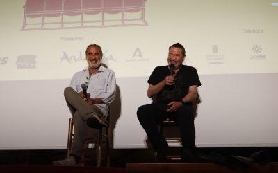 """Enrique Urbizu: """"Este festival es una gran alegría porque vuelvo con gente de mi equipo que es de Tabernas"""""""